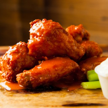 Burger UrWay Spicy BBQ Wings