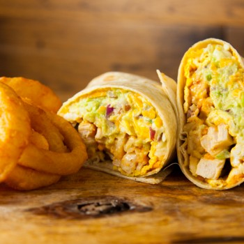 DD Burger UrWay Southwest Breakfast Burrito